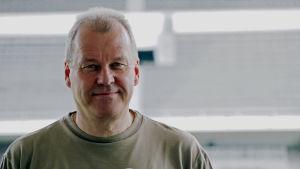 René Österman, HIFK Fotbollin toimitusjohtaja.