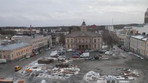 Torget i Jakobstad