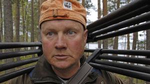 Juha Taskinen kuvassa.
