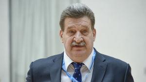 Pertti Alaja är ordförande för Finlands bollförbund.