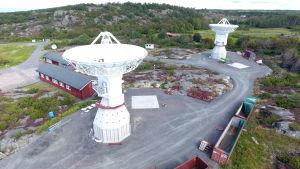 Radioteleskop i Onsala.