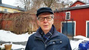 Arto Nurmi-Aro var chef för Andelsbanken i Nickby