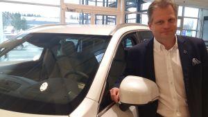 Lasse Ahlstedt, vd för Volvo cars Finland