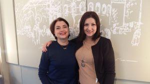 Yvonne Westerlund är mentor för Dejana Kostic