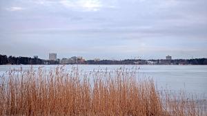 Utsikten från Munksnäs strand.