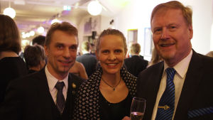 Sören och Sanna Nymalm, Folke Lindström, Pargas IF.