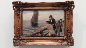 tavla av Victor Westerholm på Åbo Konstmuseum