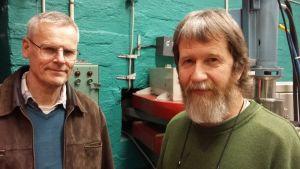 Alf Lindroos och Jan-Olof Lill