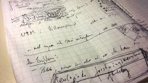 Mina anteckningar.