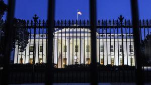 Vita huset nattetid i dokumentären Sanningen står på spel.