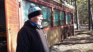 Matti Suutarinen är projektchef för Tulluddens oas