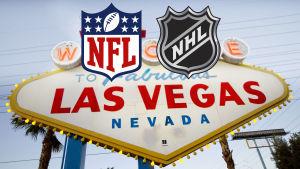 Las Vegas-skylten.