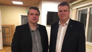 Stefan Åstrand och Patrik Karlsson.