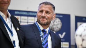 Shefki Kuqi i Inters kostym, våren 2017.