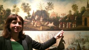 Ewa Gossart, kurator för utställningen Der Luthereffekt i Berlin