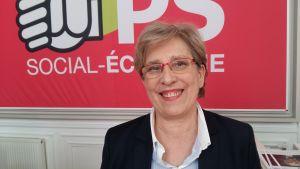 Den franska socialisten Marie-Noëlle Lienneman.