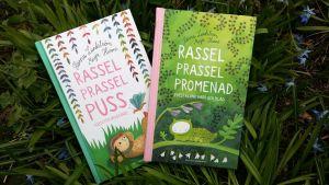 Pärmbild till Hanna Lundströms och Maija Hurmes babypoesiböcker.