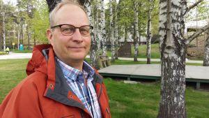 Stefan Borgman, utvecklingschef på Södra skogsreviret