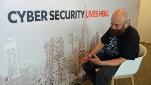 Cybersäkerhetsexperten Andy Patel på F-Secure