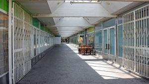 Bild på köpcentret i Rönnbacka