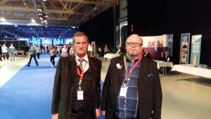 På partikongress i Jyväskylä.