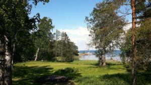Landskap på Mjölö