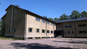 Gamla kasernen på Mjölö
