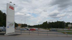ABB i Strömberg Park i Vasa.