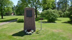 Brottare Verner Weckmans minnesplats