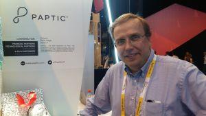 Esa Torniainen på företaget Paptic.