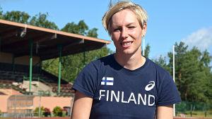 Porträttbild på Linda Sandblom.