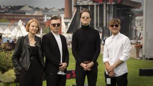 The Holy yhtye Flow festivaalilla 2017