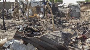Terrorgruppen Boko Haram har utfört flera blodiga terrorattacker i nordöstra Nigeria i år, bland annat mot flyktingläger