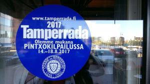 Dekalen för tävlingen Tamperrada år 2017