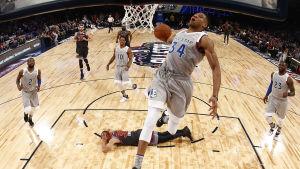 Giannis Antetokounmpo spelade i NBA:s all stars-match i våras.