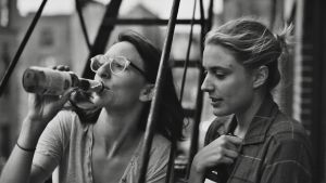 Mickey Summer och Greta Gerwig i Frances Ha.