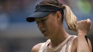 Maria Sjarapova utslagen i US Open.