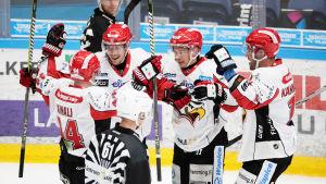 Vasa Sport vann seriepremiären i Lahtis.