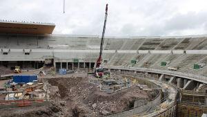 Helsingfors Olympiastadion renoveras.