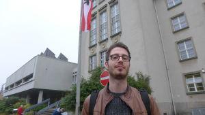 Andreas har precis röstat i stadsdelen Alt-Tempelhof i Berlin