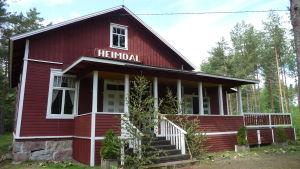 Hembygsdföreningen Heimdals hus.