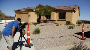 Stephen Paddock hade 19 vapen i sitt hem i Mesquite i Nevada
