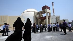 Kärnkraftverket i Bushehr i Iran.