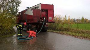oljeolycka vid Pemars värmecentral