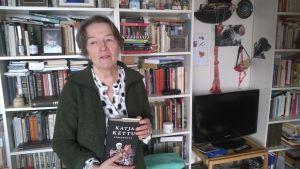 Janina Orlov hemma på Lidingö.