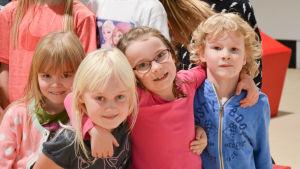 Barn i eftermiddagsklubb i Pargas.