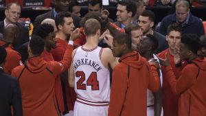 Lauri Markkanen, Chicago Bulls 2017.