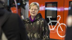 Suvi Rihtniemi, HSL:n toimitusjohtaja, 20.10.2017