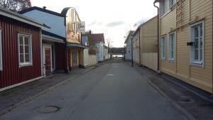 Helene Scherfbecks gata ersatte Kärrgatan i Ekenäs år 2009