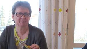 Kommunstyrelsens ordförande, Liane Byggmästar (SFP)